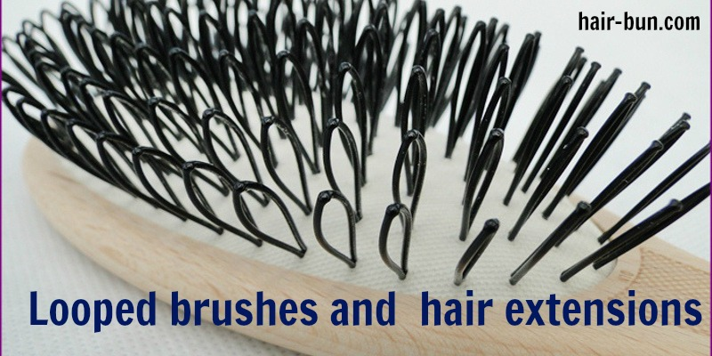Loop Brush For Hair Extensions