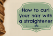 how-to-curl-hair-with-a-straightener