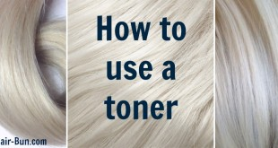 How to use a toner