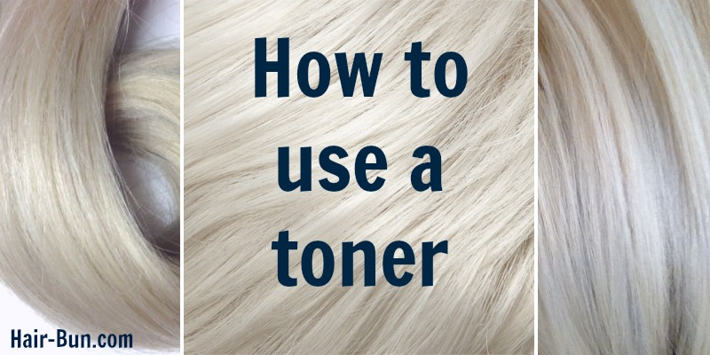 How To Use A Toner Hairbun