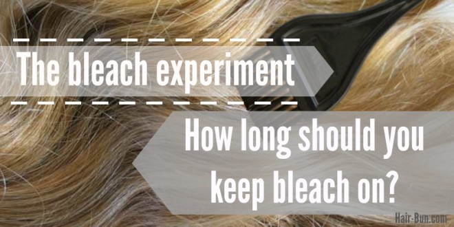 how-long-to-keep-bleach-on
