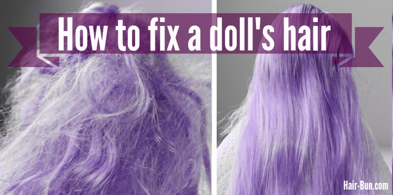 how to fix doll hair. Black Bedroom Furniture Sets. Home Design Ideas