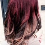 dark-red-ombre