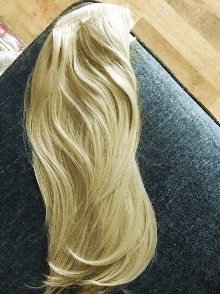 Foxy Locks Hair Extensions Review Hollywood Blonde